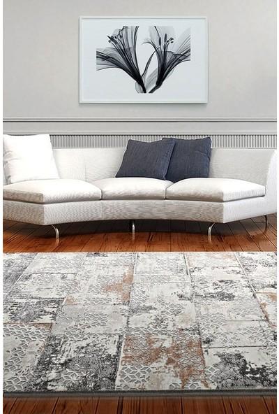 Bahariye Craft Yolluk Halı LM 9132 Bej Gri En 150 cm 150 x 100 cm