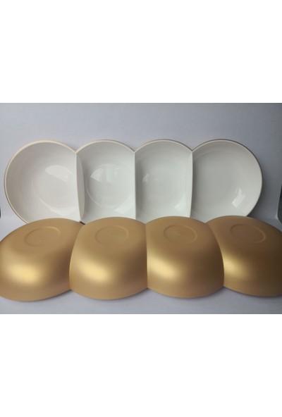 Tupperware Berrak Gold 4 Bölmeli Sunum Tabağı Çerezlik