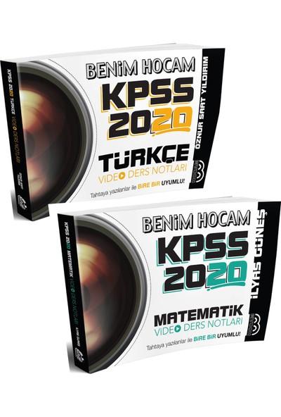 Benim Hocam Yayınları 2020 Kpss Genel Yetenek Video Ders Notları Seti