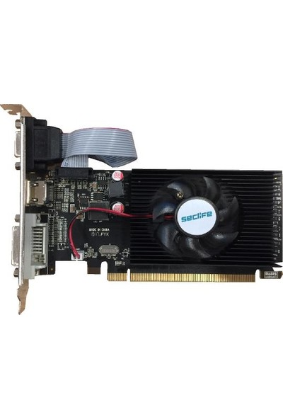 Seclife AMD Radeon HD 6450 2GB 64Bit DDR3 PCI-E x16 Ekran Kartı HD6450