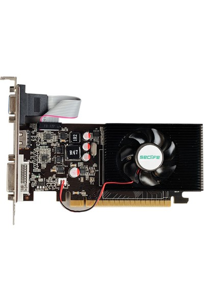 Seclife Nvidia GeForce GT420 2GB 128Bit DDR3 PCI-E x16 GT420