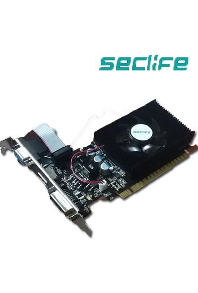 Seclife Nvidia GeForce GT220 1GB 128Bit DDR3 PCI-E x16 Ekran Kartı GT220