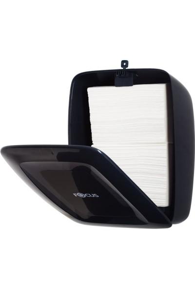 Focus Z Katlı Havlu Dispenser Siyah