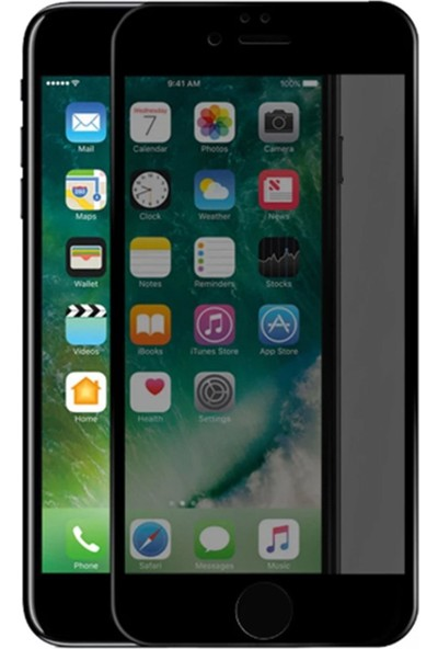 YGT Apple iPhone XR Privacy Hayalet 10D Ekran Koruyucu Cam