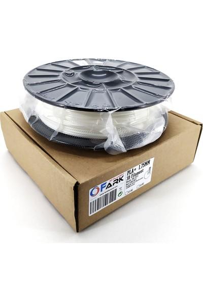 Fark Pla+ 1.75 mm 3D Filament 0.5kg Beyaz (Yarı Saydam)