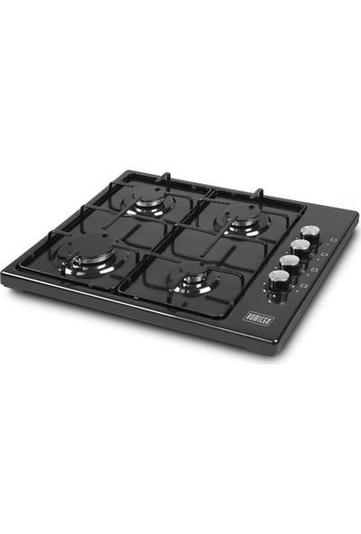 Kumtel Homtego 420F Siyah Set Üstü Ocak