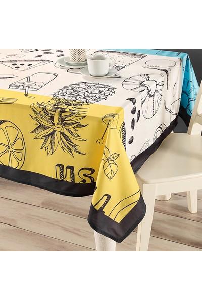 Hamur Fresh 150 x 150 cm Kare Masa Örtüsü