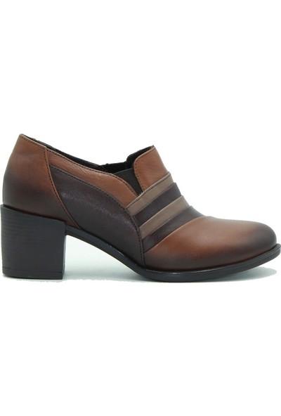 Venüs Hakiki Deri Kadın Topuklu Ayakkabı 1372K