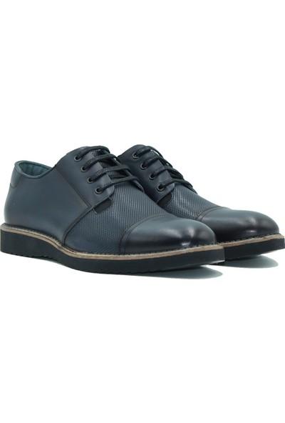Kemudo Deri Erlkek Ayakkabı 10 Lacivert