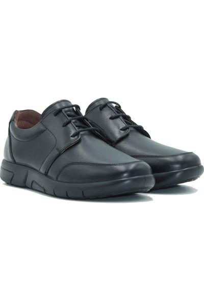 Esse Deri Erkek Ayakkabı 28633 Siyah