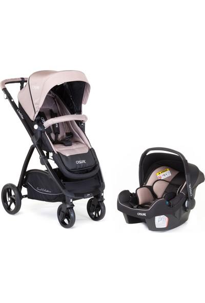Casual Cadillac Trona Travel Sistem Bebek Arabası - Cream