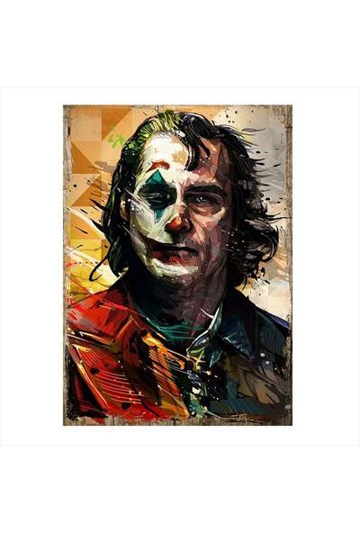Tablomega Renkli Yüzlü Joker Art Mdf Tablo