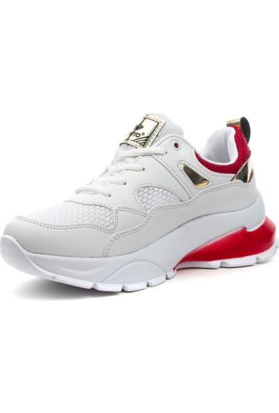 ModaFrato Viento 084Z Kadın Spor Ayakkabı Günlük Yüksek Taban