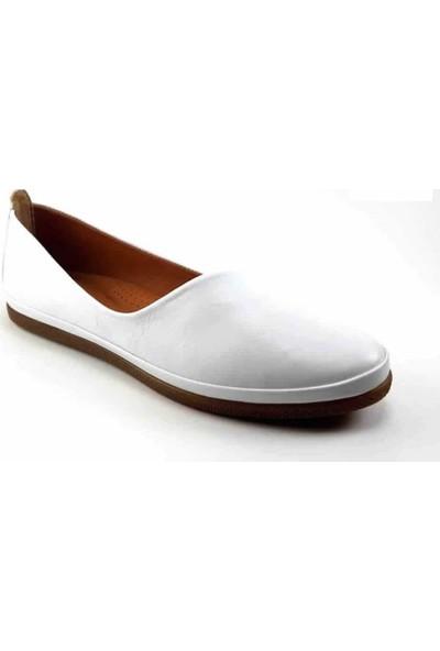 Estile 202 Günlük Kadın Ayakkabı - Beyaz Kadın Ayakkabı