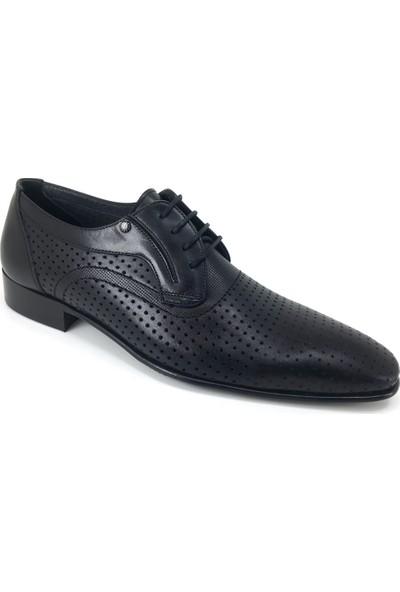 Oskar 1322 Deri Köselle - Siyah Ayakkabı
