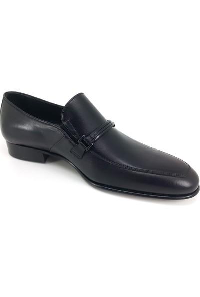 Oskar 1345 Deri Köselle - Siyah Ayakkabı