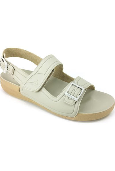 Ceyo 1300-4 Kadın Sandalet - Bej Kadın Sandalet