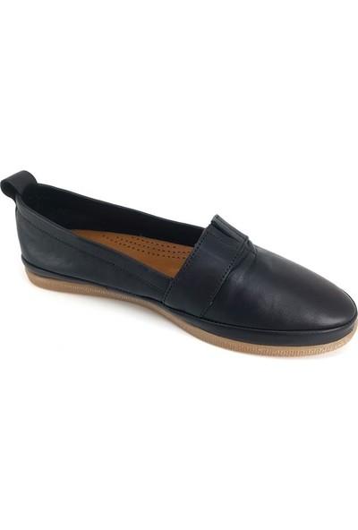 Estile 61 Günlük Kadın Ayakkabı - Siyah Kadın Ayakkabı
