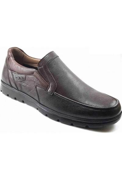 Forelli 32626 Günlük Ortopedik Erkek Ayakkabı - Kahverengi Ayakkabı