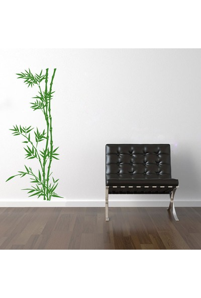 Dez Bambu Ağacı Dekoratif Duvar Stıcker 58 x 132 cm