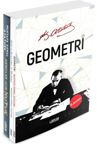 Atatürk Kitaplığı Seti (3 Kitap) - Mustafa Kemal Atatürk
