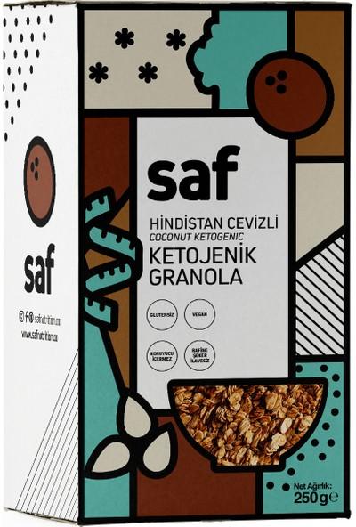 Saf Nutrition Hindistan Cevizli Ketojenik Granola, 200 gr