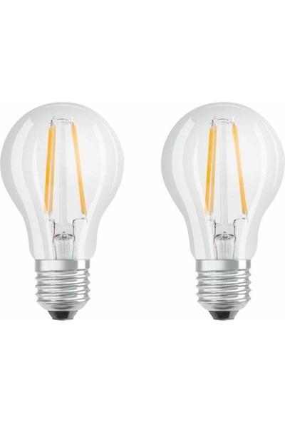 Osram Led Filament Ampul 7W Sarı Işık Normal Duy İkili Paket