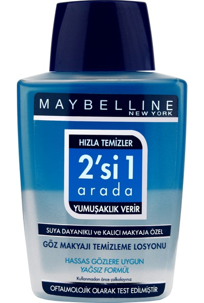 Maybelline New York Göz Makyajı Temizleme Losyonu 125 Ml