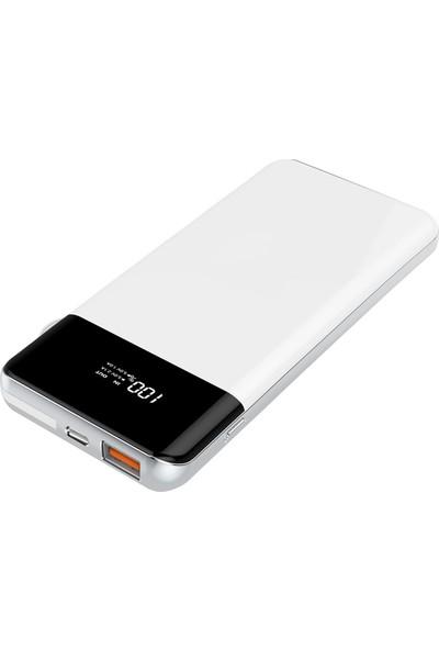 Codegen Supercharger 8000 mAh PD Qi Kablosuz Taşınabilir Hızlı Şarj Cihazı Powerbank SX-80