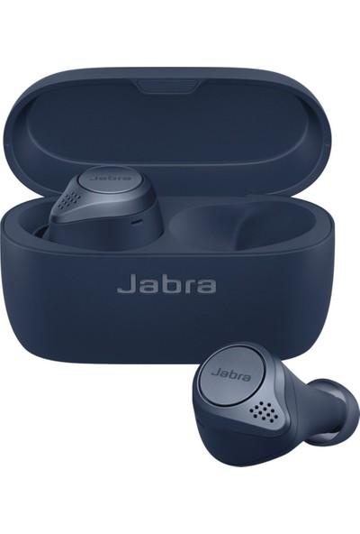 Jabra Elite Active 75T Navy Kulakiçi Aktif Gürültü Önleyici Bluetooth Kulaklıklar (IP57 Su ve Toz Geçirmez)