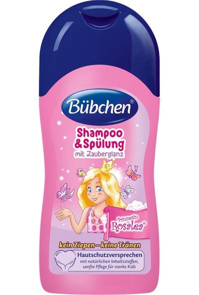Bübchen Prenses Rosalea Şampuan + Balsam 2'si 1 Arada 50 ml
