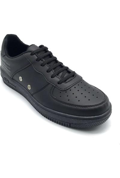Polo1988 0093 D-Max Siyah Erkek Ayakkabı
