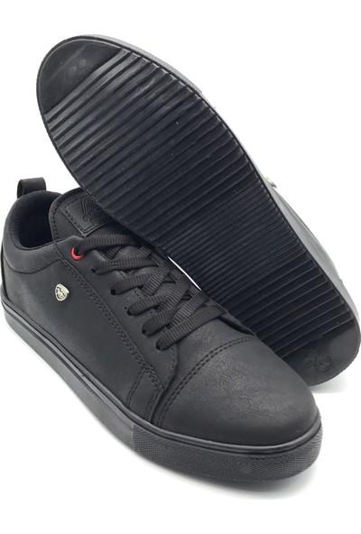 Polo1988 015 Filling Siyah-Siyah Erkek Ayakkabı