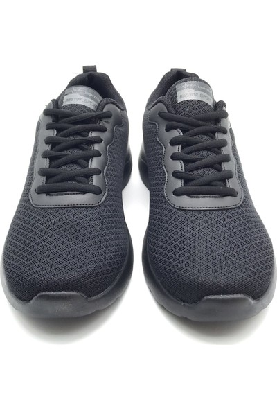 Polo1988 058 Best Of Siyah-Siyah Erkek Ayakkabı