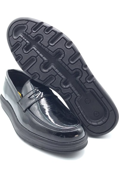 Polo1988 102 Carrano Siyah-Siyah Erkek Ayakkabı