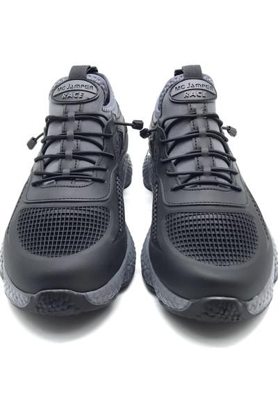 Polo1988 1834 Marco Jamper Siyah-Füme Erkek Ayakkabı