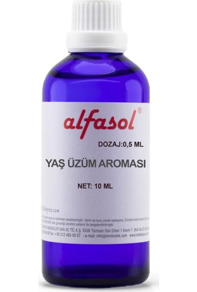 Alfasol Yaş Üzüm Aroması 10 ml