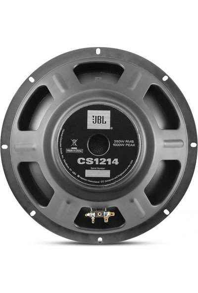 JBL Cs-1214 30cm Subwoofer 1000 Watt