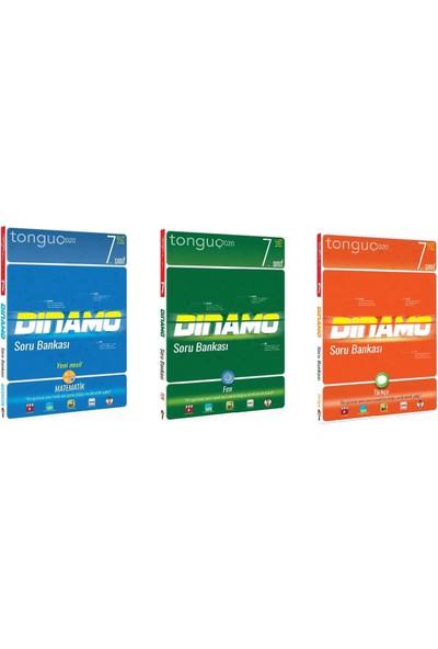Tonguç Akademi 7. Sınıf Matematik Fen Türkçe Dinamo Soru Bankası Seti 3 Kitap