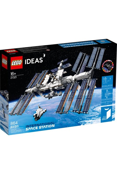 LEGO Ideas 21321 International Space Station Iss