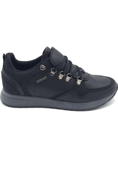 Polo1988 224 Carrano Siyah-Füme Erkek Ayakkabı