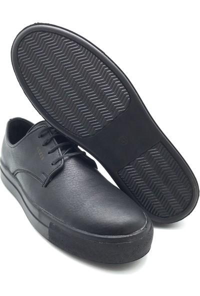 Polo1988 240 Guzzy Siyah-Siyah Erkek Ayakkabı