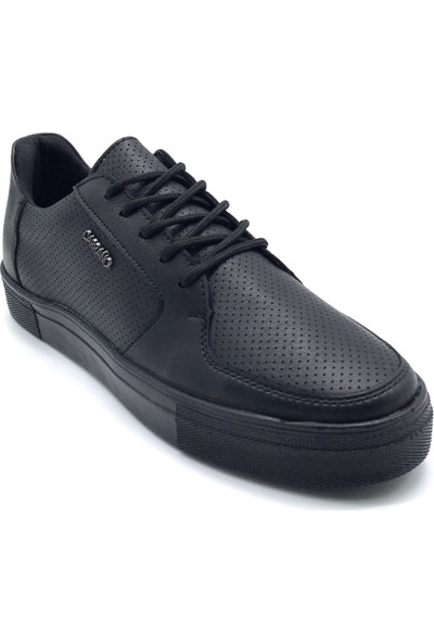 Polo1988 317 Carrano Siyah Erkek Ayakkabı