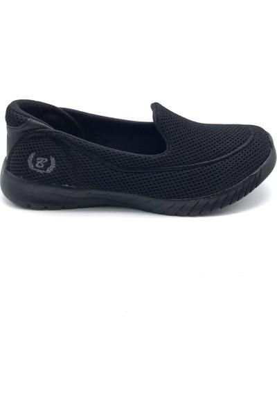 Polo1988 553 Black Sea Siyah-Siyah Kadın Ayakkabı