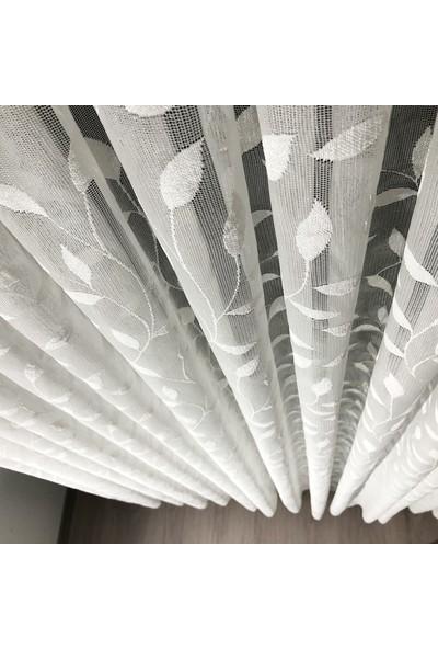 Brillant Tül Perde Uniform 1'e 2 Seyrek Pile 100 x 180 cm