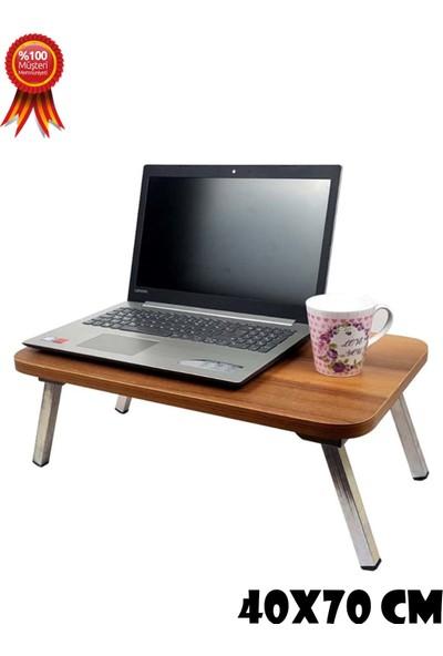 Eko Express Laptop Masası Çalışma Masası Servis Masası Katlanır Ayaklı 40 x 70 cm