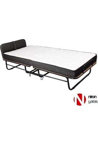 Niron XL Katlanır Yatak | 90x200 Katlanır Portatif Yatak