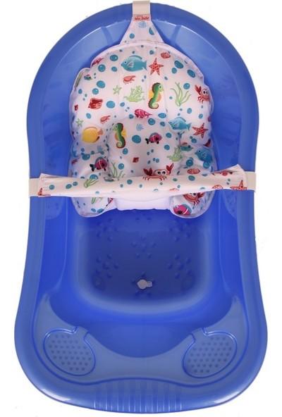 Sevi Bebe Desenli Çok Fonksiyonlu Bebek Banyo Filesi