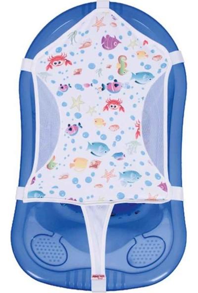 Sevi Bebe Desenli Havlu Banyo Filesi
