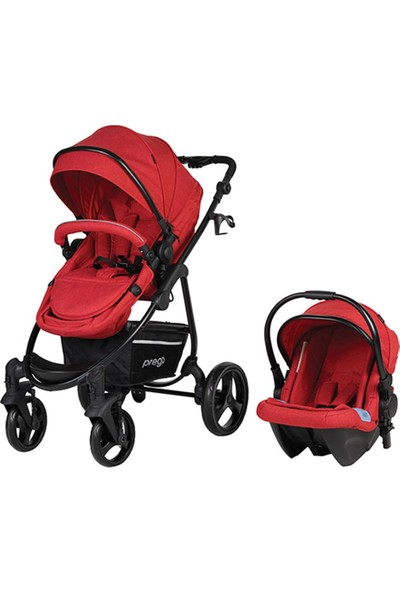 Prego 2020 İmpala Travel Bebek Arabası Kırmızı